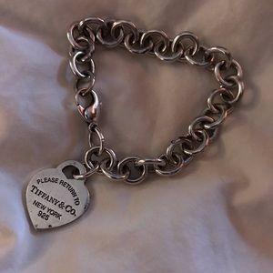 Authentic Tiffany's classic bracelet